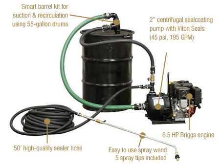 AK2300-B Sealer Sprayer specs